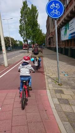 A quality path heading towards Scheveningen