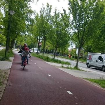 Another quality path heading towards Scheveningen