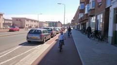 Quality single direction path in Scheveningen