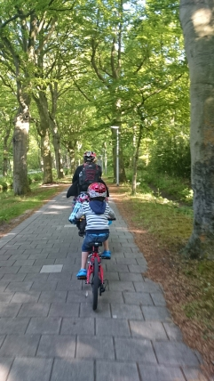 Riding through Wassenaar