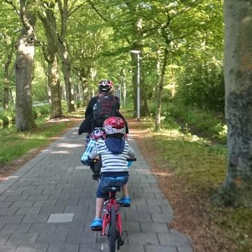 Riding through Wassenaar