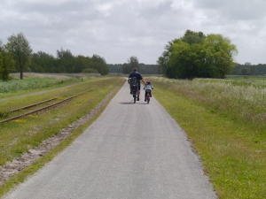 Me and the boys riding along Valkenburgse Meer