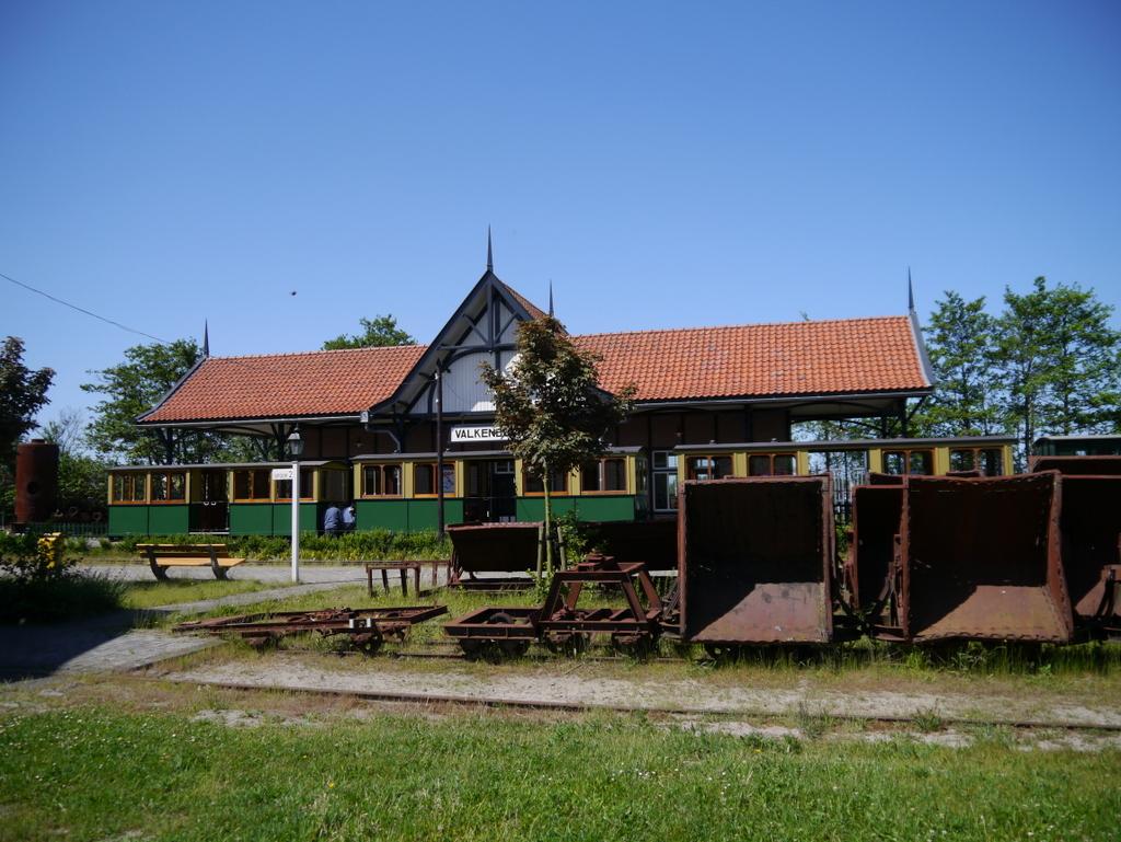 Valkenburg Station on the Stoomtrein Katwijk Leiden