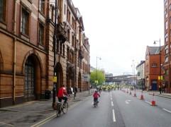 Heading down Fairfield Street