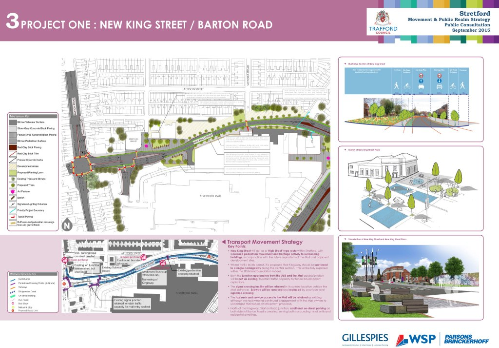 Project one: New King Street / Barton Road