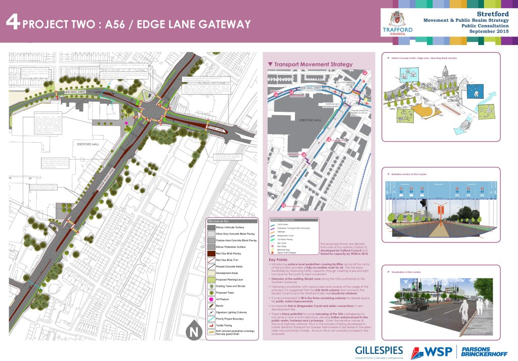 Project two: A56 Edge Lane Gateway
