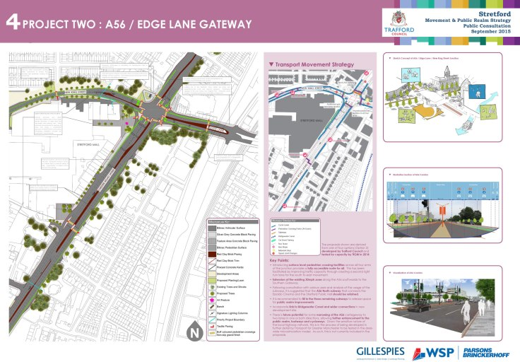 Project two: A56 Edge Lane Gateway