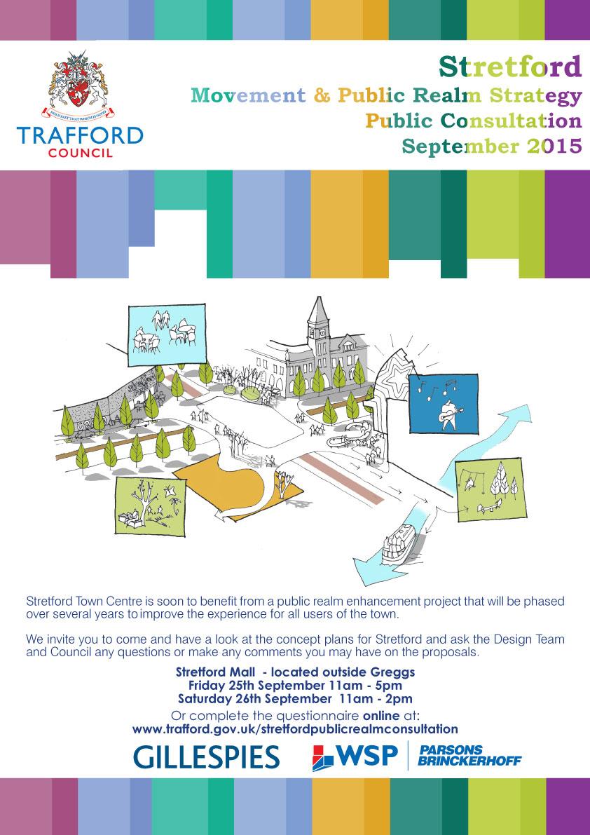 Stretford Movement & Public Realm Strategy Public Consultation September 2015