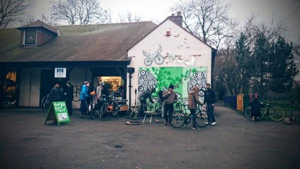 Platt Fields Bike Hub