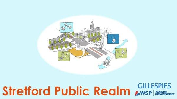 Stretford Public Realm presentation cover