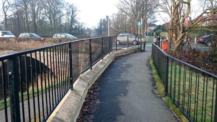 Barrier 4 - Onto Wilmslow Road