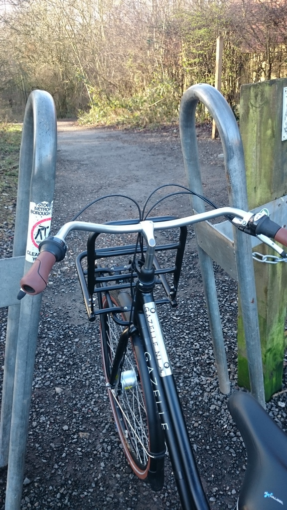 Barrier #2 - On the Trans Pennine Trail