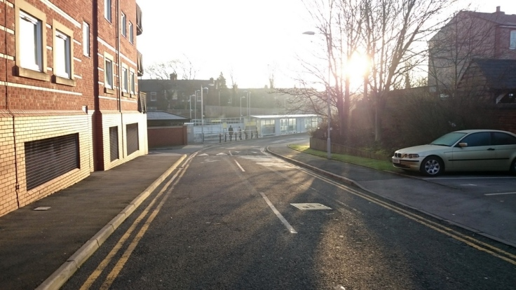 Towards Didsbury Village stop