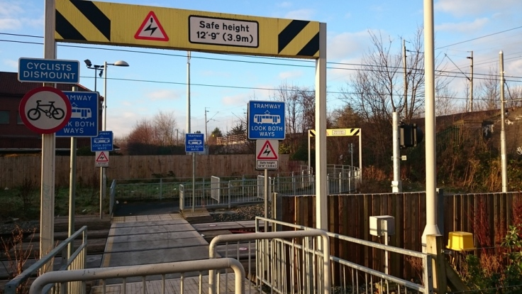 Route to Parrs Wood Tesco