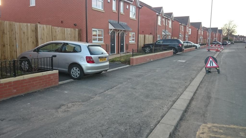 Inadequate driveways