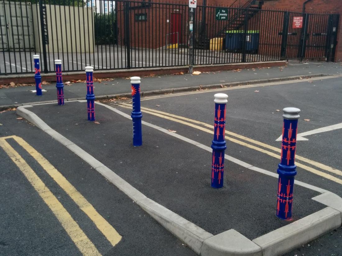 Some bike-themed filtered permeability in Stretford