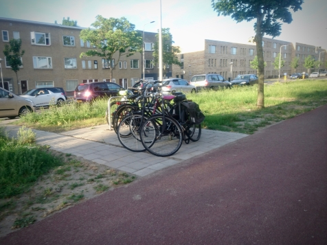 On-street parking in the suburbs