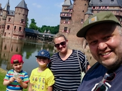 Arriving at De Haar Castle