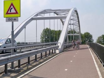 Crossing the Amsterdam–Rhine Canal