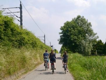 Kids riding along