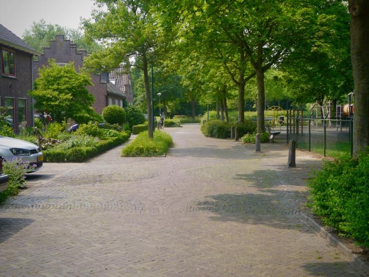 Play street near De Haar Castle