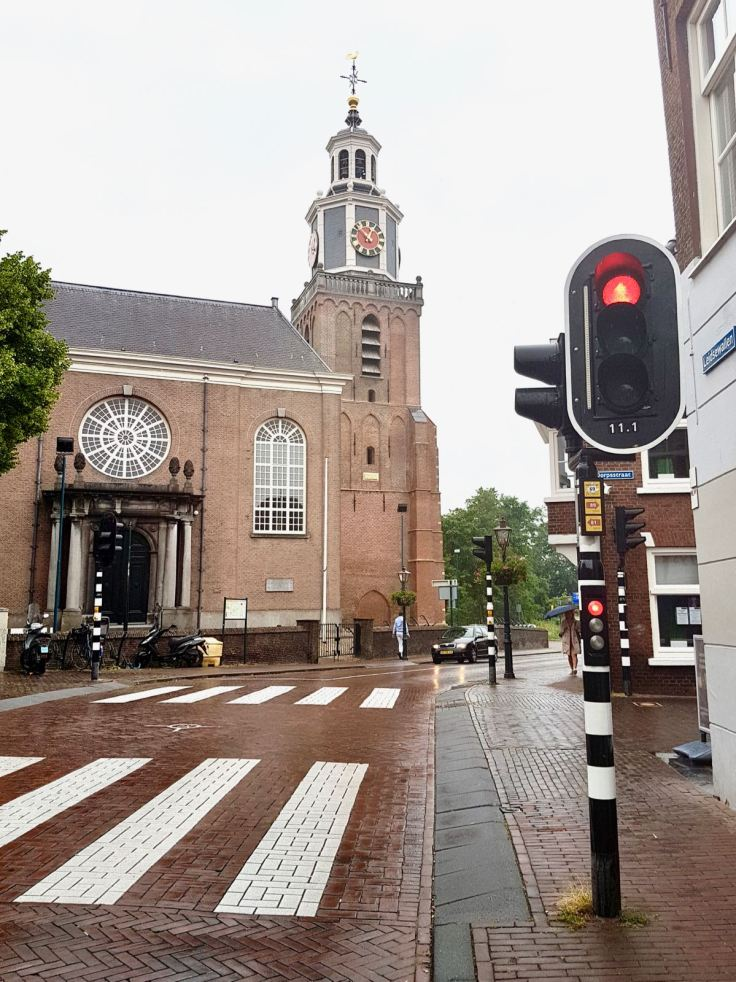At the junction with Dorpstraat in the old village part of Zoetermeer