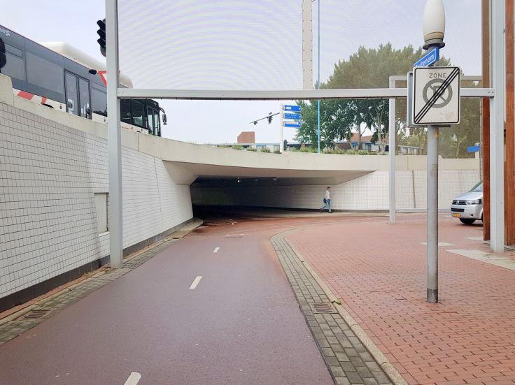 Underpass going underEuropaweg, what Stretford's subways could have been