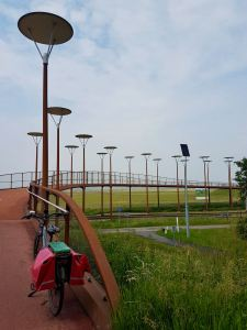 Views across the Burgemeester Jan Waaijerbrug bridge